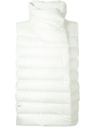 Ralph Lauren Black Label Ralph Lauren Black Padded Vest White