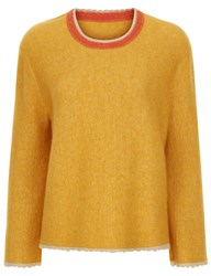 3.1 Phillip Lim Saffron Crew Neck Sweater Orange