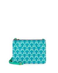 Bayley Duo Pouch Crossbody Bag Green Liberty London