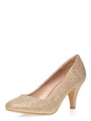 Dorothy Perkins Wide Fit Courts Metallic