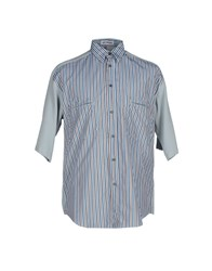 Umit Benan Shirts Shirts Men Sky Blue