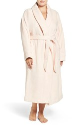 Nordstrom Plus Size Women's Terry Velour Robe Pink Creole