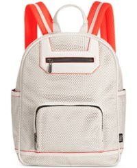 Circus By Sam Edelman Billy Perforated Backpack Bright White