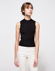 Which We Want Cora Knit Top Black