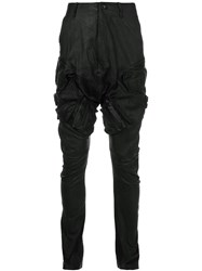 Julius Cargo Pants Black