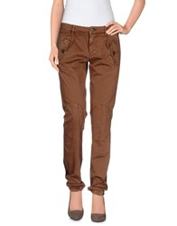 Mason's Trousers Casual Trousers Women Khaki
