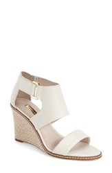 Women's Louise Et Cie 'Rocco' Wedge Sandal Pale White
