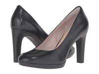 Rockport Seven To 7 Ally Plain Pump Black Burn Calf Women's Shoes