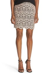 Chelsea 28 Women's Chelsea28 Lace Pencil Skirt