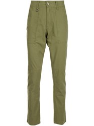 Publish Straight Leg Trousers Green