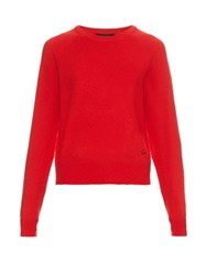 Equipment X Kate Moss Ryder Cashmere Sweater Red