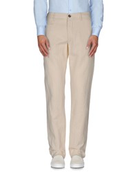 Incotex Red Trousers Casual Trousers Men Ivory