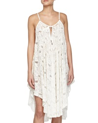 6 Shore Road Sunday's Lace Loose Coverup