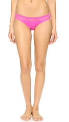 Calvin Klein Underwear Perfectly Fit With Lace Panties Pink Slip
