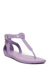 Hunter Original T Bar Sandal Purple