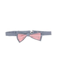D.R Shirt Bow Ties Pink