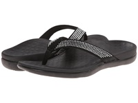 Vionic With Orthaheel Technology Tide Rhinestone Black Women's Sandals