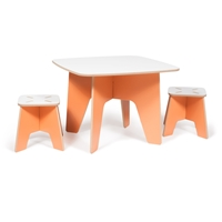 Sprout Kids Table And Two Stools