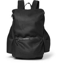 Christopher Raeburn Packaway Recycled Mesh Backpack Black