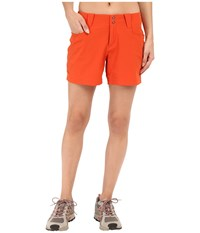 Outdoor Research Ferrosi Summit Shorts Paprika Women's Shorts Red