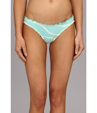 Lucky Brand Rip Tide Basic Sweet Mint Women's Swimwear Blue