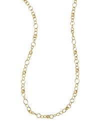 Ippolita Glamazon 18K Gold Classic Link Long Chain Necklace 33'L