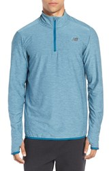 New Balance Men's 'Transit' Quarter Zip Training Jacket