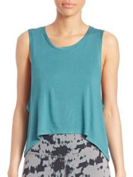 Beyond Yoga Solid Sleeveless Top Artic Teal