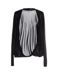 Cristinaeffe Collection Topwear Shrugs Women Black
