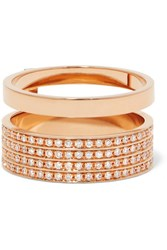 Repossi Berbere 18 Karat Rose Gold Diamond Ring