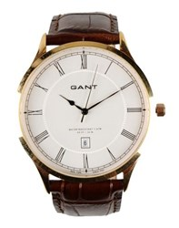 Gant Timepieces Wrist Watches Men Dark Brown