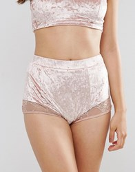 Minkpink Crush On You Hot Pant Shell Pink