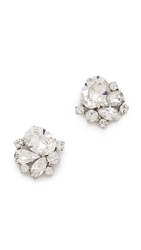 Jenny Packham Tesoro Earrings I Rhodium