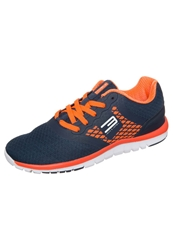 Jack And Jones Tech Jjadjust Lightweight Running Shoes Blue Shocking Orange