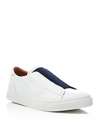 Marc Jacobs Velcro Front Low Top Sneakers White Navy