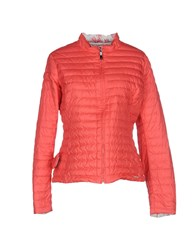 Dekker Coats And Jackets Down Jackets Women Coral