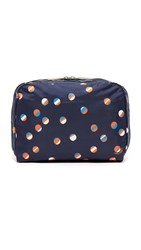 Le Sport Sac Xl Essential Cosmetic Case Beach Ball Navy