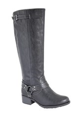 Intaglia Nevada Extra Wide Calf Riding Boot Wide Width Available Black