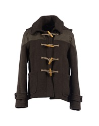 Harnold Brook Jackets Military Green