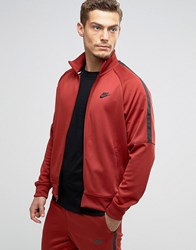 Nike Tribute Track Jacket In Red 678626 674 Red