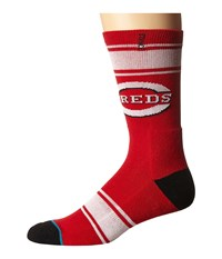 Stance Red Machine Red Men's Crew Cut Socks Shoes