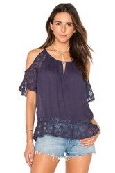 Heartloom Jemma Top Navy