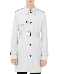 Sandro Summer Mac Trench Coat Mastic