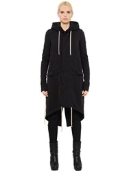 Rick Owens Drkshdw Hooded Cotton Parka Jacket