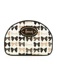 Harrods Glitter Bows Cosmetics Bag Unisex