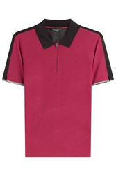 Rag And Bone Rag And Bone Knit Colorblock Polo Shirt Multicolor