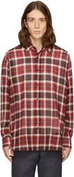 Facetasm Brown Plaid Shirt