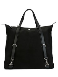 Mismo 'M S Shuttle' Tote Bag Black