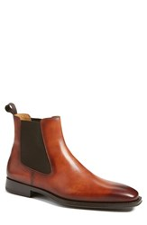 Magnanni Men's 'Sean' Chelsea Boot Cognac