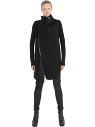 Rick Owens Blister Trim On Wool Coat